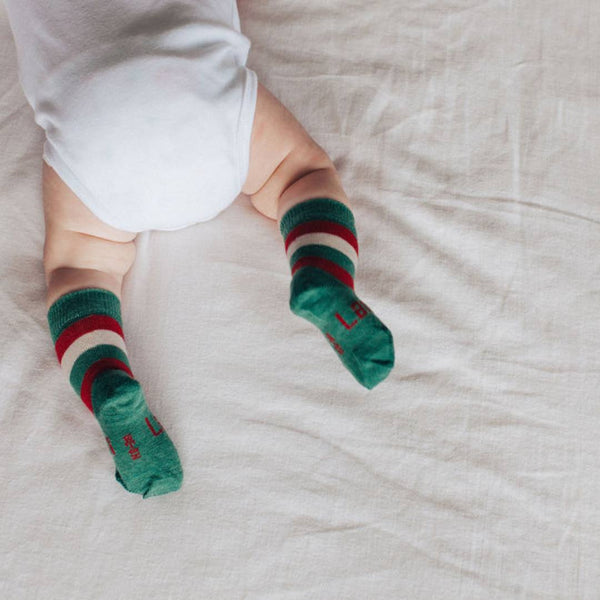 Merino Crew Socks Xmas Limited Edition Elf