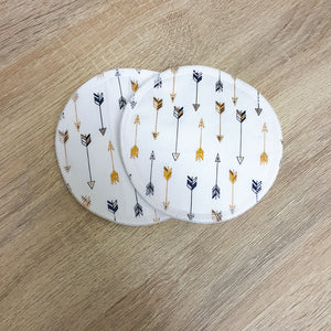Reusable Breast/Nursing Pads - Arrows