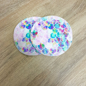 Reusable Breast/Nursing Pads | Mermaid - Last One-HOKUTO