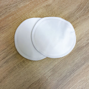 Reusable Breast/Nursing Pads - White-HOKUTO