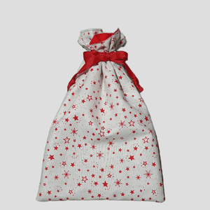 Drawstring Gift Bag Small | Stars