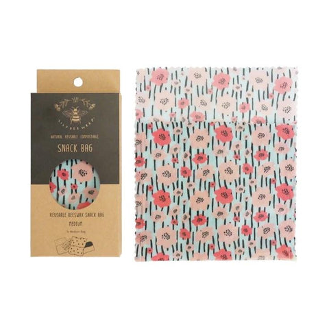 Medium Snack Bag - Spring (Organic Cotton)
