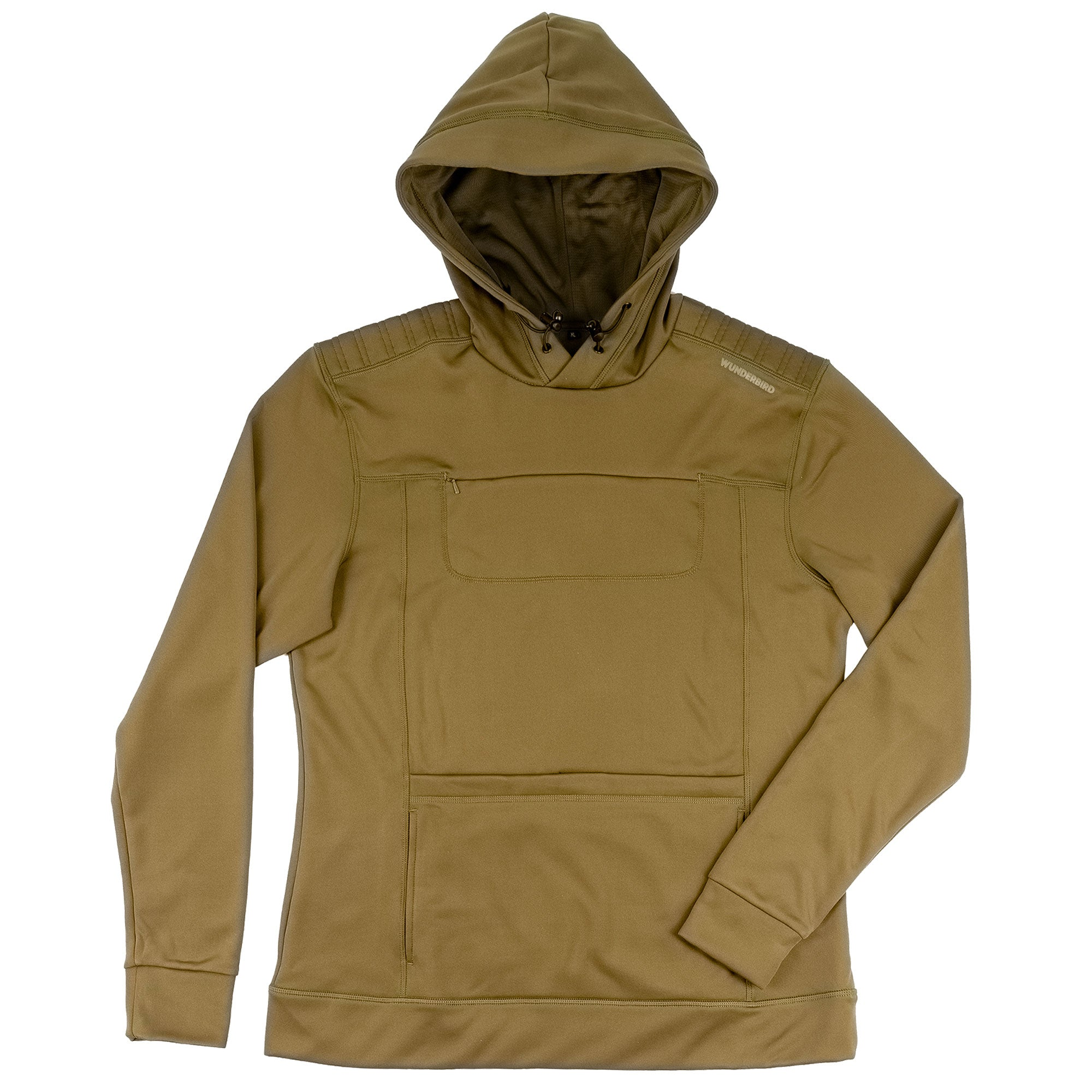 The Gyrfalcon Hoodie in olive green