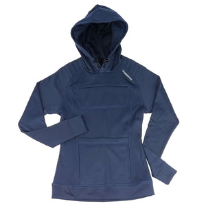 The Gyrfalcon bird watching Hoodie for women - navy blue
