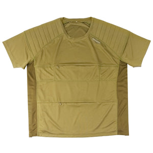 The Kestrel Short Sleeve birdwatching Tee - olive green
