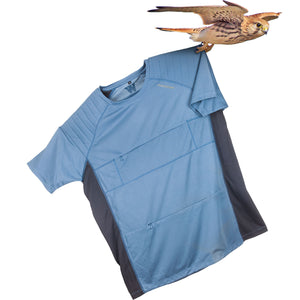 The Kestrel Short Sleeve Tee blue