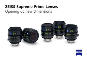ZEISS announces Supreme Prime Lenses for Large-Format