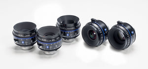 Zeiss CP.3 Lenses -5 Lens Set -XD eXtendedData