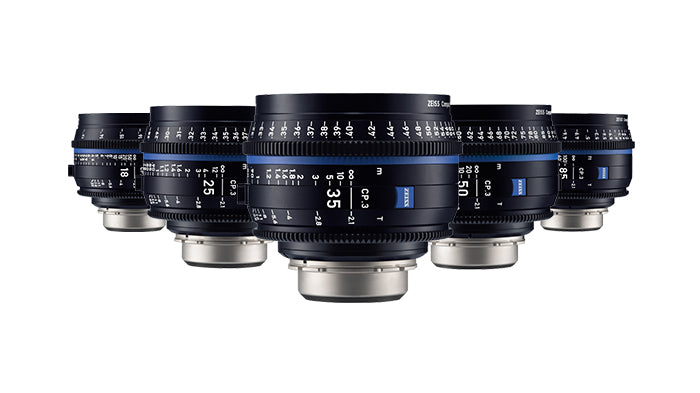 Zeiss CP.3 Lenses -5 Lens Set