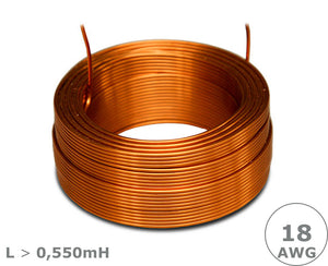 Jantzen Audio Air Core Wire Coil – 18 AWG, L > 0,55mH