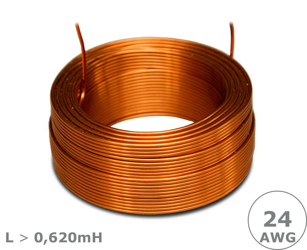 Jantzen Audio Air Core Wire Coil – 24 AWG, L > 0,62mH