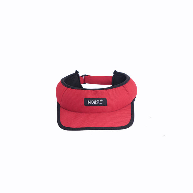 Caddy Visor Cap Red