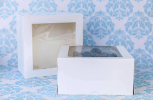 "9"" Cake Box White  *5"" Height* (25 pcs)"