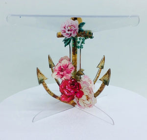 Anchor Acrylic Cake stand