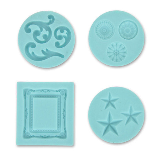 Silicone Mold - Frame and Flourishes