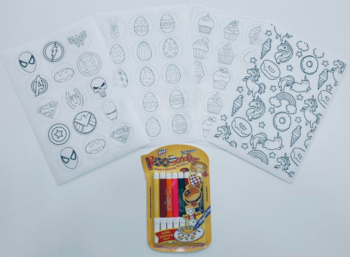 Kids Activity Print Set