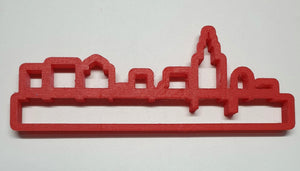 New York Skyline Cookie Cutter