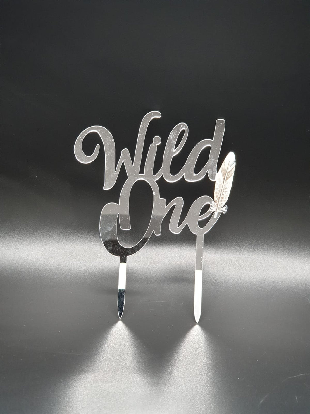 Wild One cake topper.
