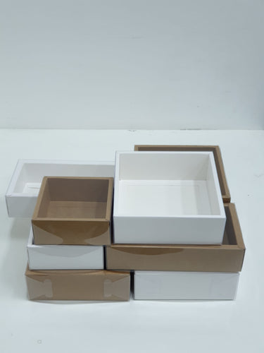 Paris Grazing Box (White / Kraft)