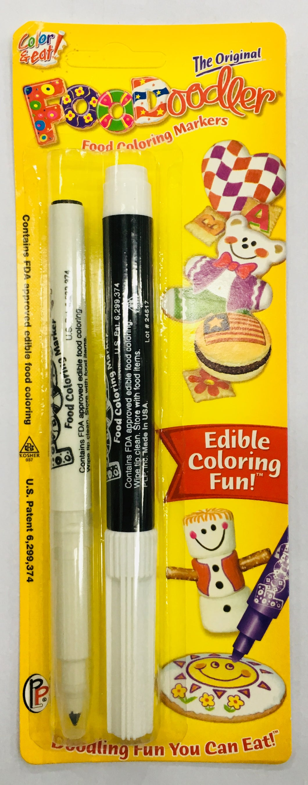 FOODOODLER TWIN BLACK EDIBLE MARKER SET
