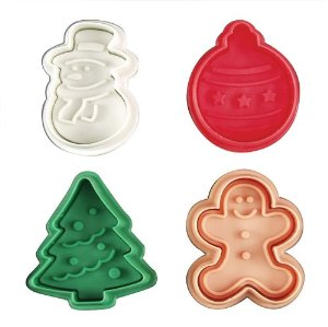 Christmas Plunger Set of 4