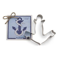Large Cookie Cutter - Anchor