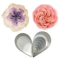 Austin Rose Flower Cutter- 7 piece