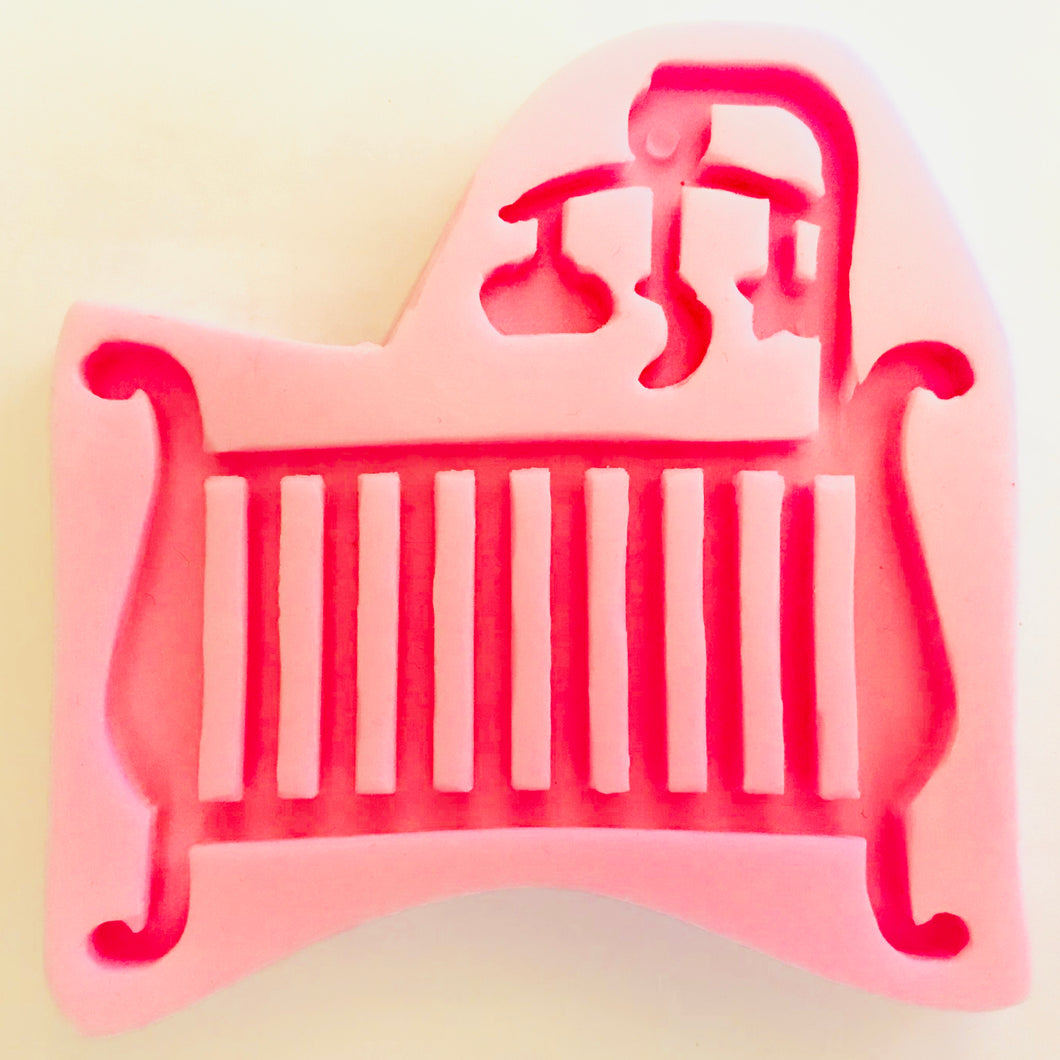 Baby Crib with Mobile mould