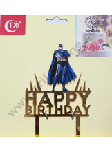 Batman Happy Birthday Cake Topper