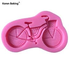 Bicycle silicone mould