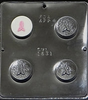Oreo Sandwich Cookie Chocolate Mold AWARENESS RIBBON