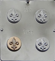 Oreo Sandwich Cookie Chocolate Mold- FLEUR DE LIS