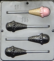 ICE CREAM CONE POP Chocolate Mould