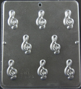 Music Note TREBLE CLEF BITS