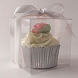 Single Cupcake Box-Clear