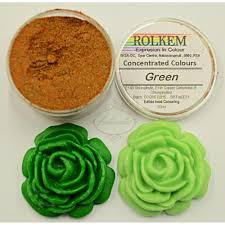 ROLKEM Concentrated Food Colour Dust Green 10ml –