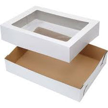 Rectangular Corrugated Cake Box with  Board Combo