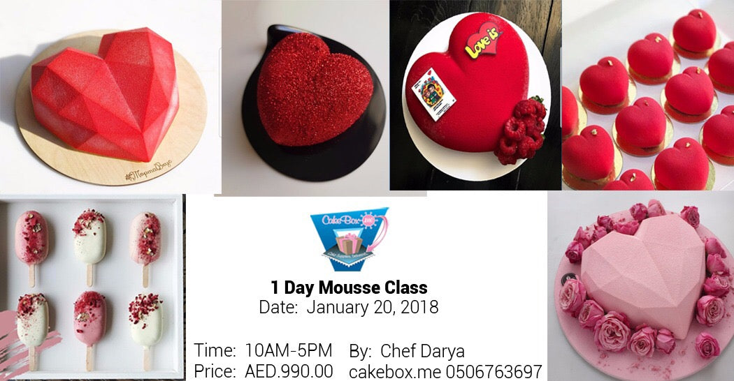 Lovers Mousse For Valentines!