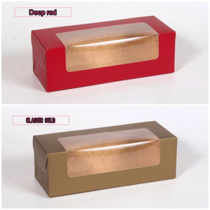 Loaf box or 3 Cupcake box (no insert)