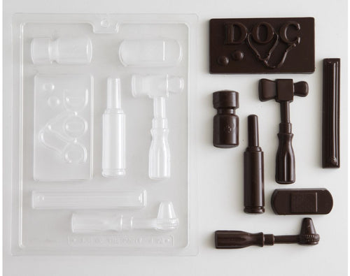 DOCTOR'S SET CHOCOLATE MOLD