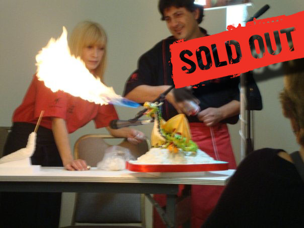 Flaming Dragon Class with Maria Castro