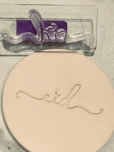 "Just ""Eid"" Embosser stamp"