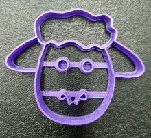 Cute Lamb Face Cookie cutter
