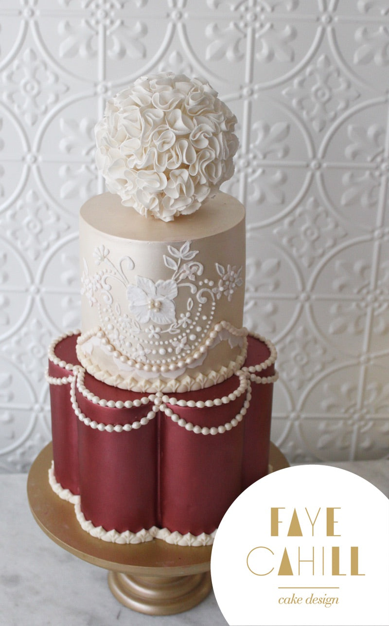 Regal Cake by Faye Cahill