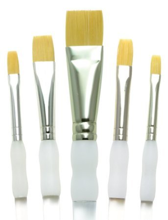 Wide Flat Brush Set