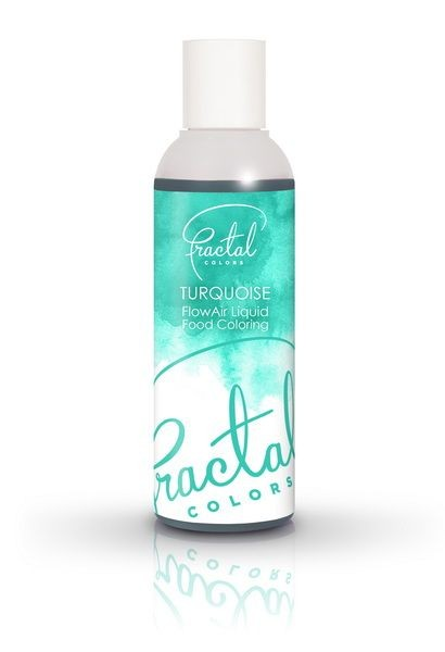 TURQUOISE - FRACTAL FLOWAIR LIQUID COLORS - 100ML