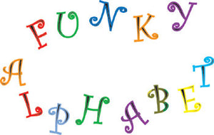 Funky Alphabet & Numbers