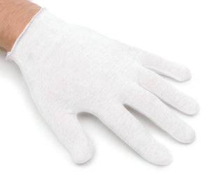 White Cotton Gloves Medium / Standard Size