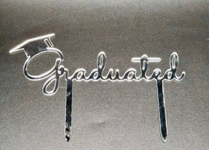 Graduated Acrylic Cake Topper