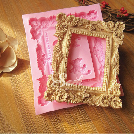 Victorian 'Picture Frame (Large)' Silicone Mould